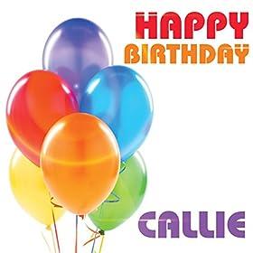 Amazon.com: Happy Birthday Callie: The Birthday Crew: MP3