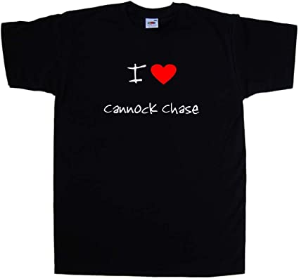 I Love Heart Cannock Chase T-Shirt