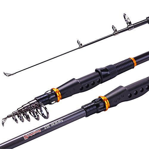 Fishlander rods sougayilang spinning telescopic for Telescoping fishing pole