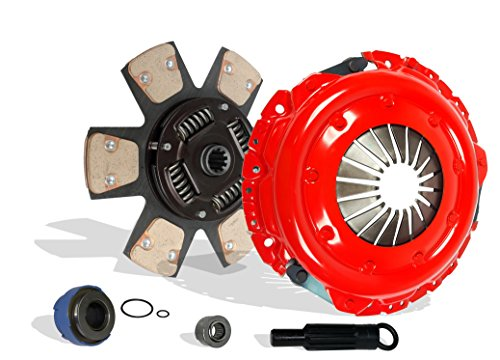 - Clutch Kit Set Works With Ford Bronco F150 F250 F350 Eddie XL XLT Special Lightning Ranger Custom 1993-1996 5.0L V8 5.8L V8 4.9L L6 Gas OHV Naturally Aspirated (6-Puck Clutch Disc Stage 2)