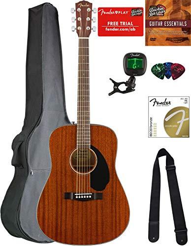 Best Fender Guitar Acoustic - Fender CD-60S Solid Top Dreadnought Acoustic