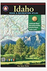 Idaho Road & Recreation Atlas Paperback