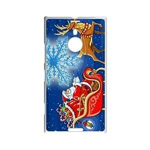 Fashion Christmas snowman Pattern Hard Back Custom Case for Nokia Lumia 1520