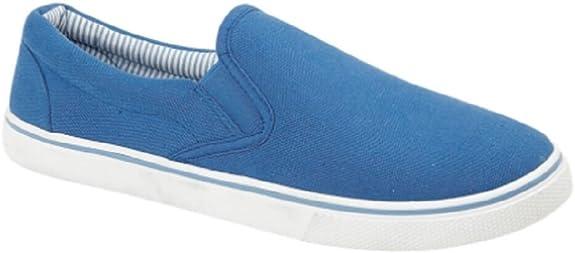 Footwear Sensation - Zapatillas de Deporte para Hombre, Color Azul, Talla 45 EU