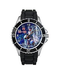 Aquarius Zodiac Unisex design watch with silicone band