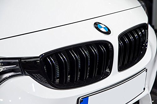 M3 Look Gloss Black Kidney Euro Sport Front Hood Grill For BMW 3 Series F30 F31 12- (Front Grill Sport)