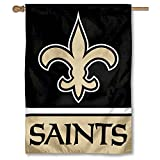 New Orleans Saints Two Sided House Flag