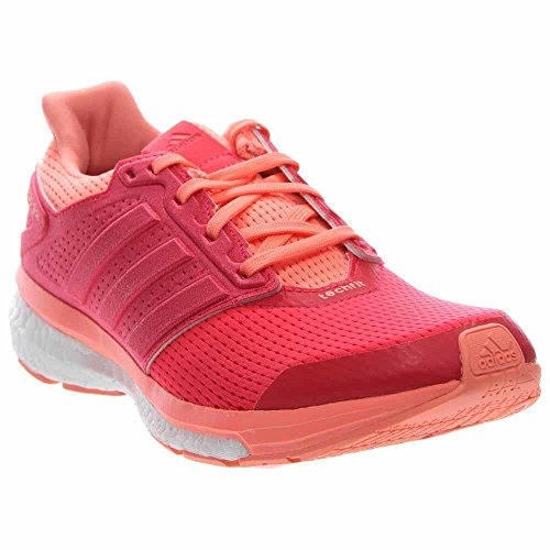 adidas Performance Womens Supernova Glide 8 W Running Shoe Sunglow/Shock Red