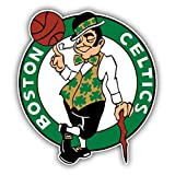 Boston Celtics NBA Basketball Logo Vinyl Sticker 4 X 5 inches