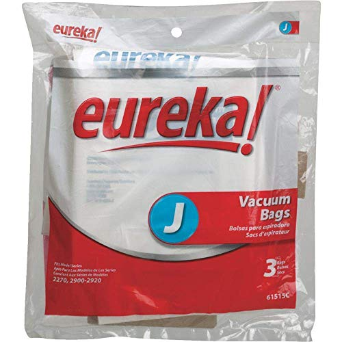 TopRatedvacuum Parts Eureka/Sanitaire Upright 2270 Series Type J Paper Bags 3 PK OEM # 61515C-6
