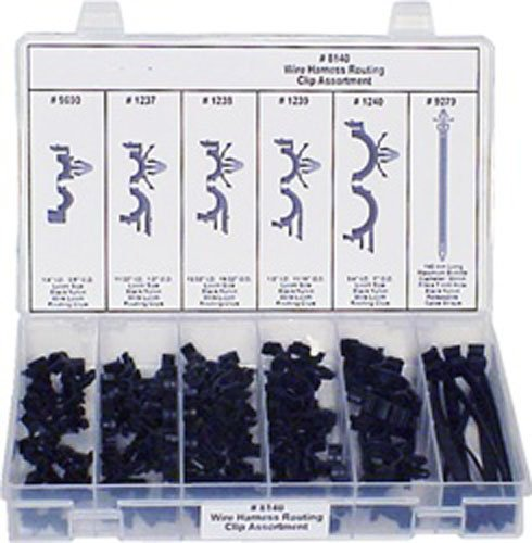 amazon com 54 pc wire harness clip assortment automotive