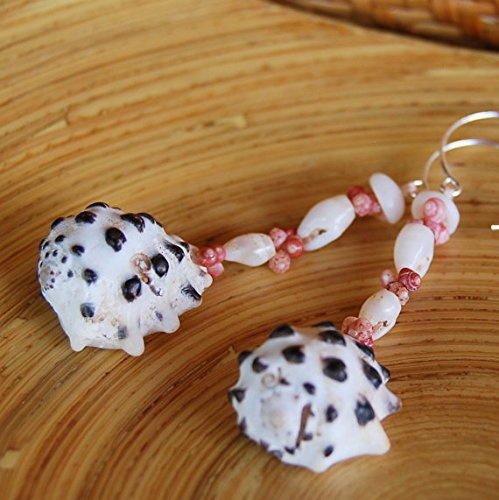 Pupu au kahelelani shell earrings