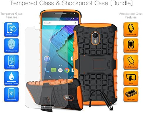 mobibax Ultimate Bundle para Motorola Moto X Style-Protector de ...