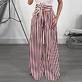 Elogoog Hot Sale 2018 Women's Striped High Waist