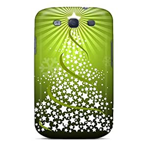 You1097ufIr Snap On Case Cover Skin For Galaxy S3(christmas Tree)