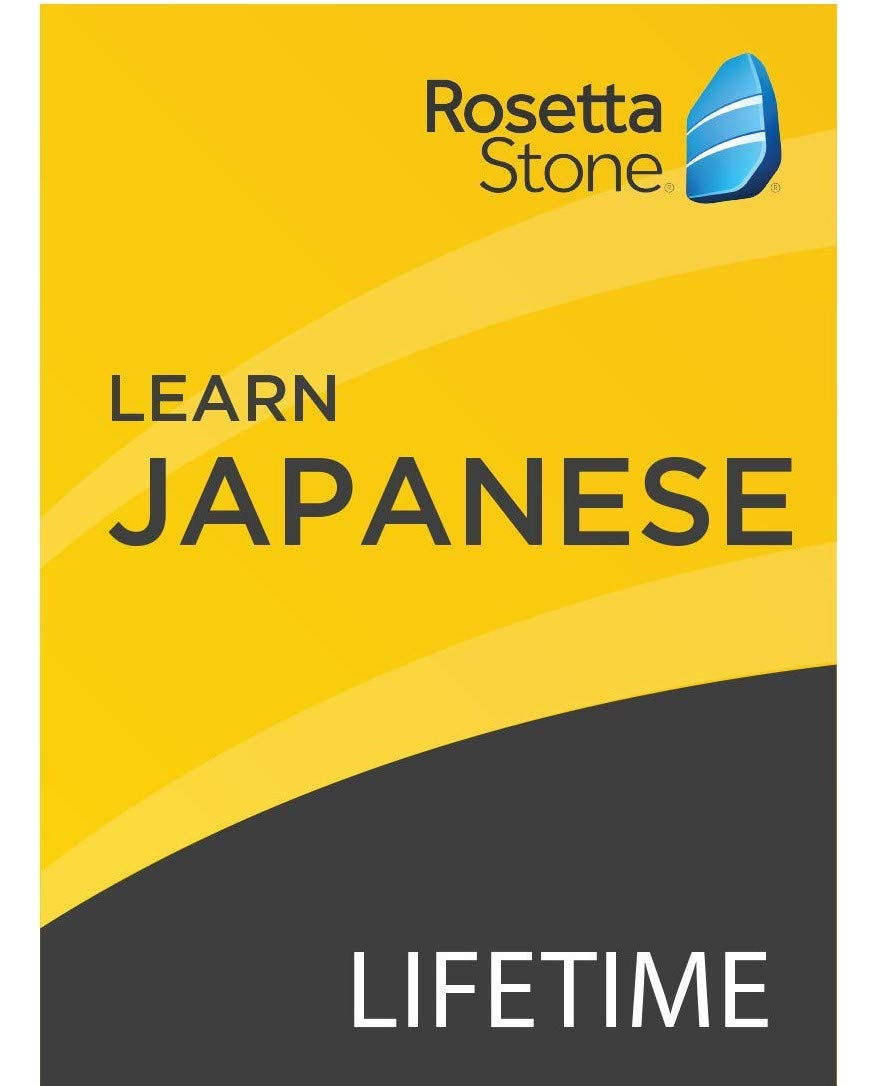 Rosetta Stone: Learn Japanese with Lifetime Access on iOS, Android, PC, and Mac [Activation Code by Mail] by Rosetta Stone