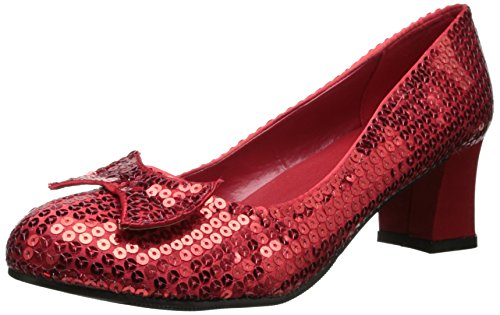 Dorothy Wizard Of Oz Costume Shoes - Ellie Shoes Women's 203-judy, Red, 6