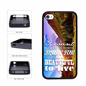 Beautiful Life Positive Inspirational Motivational Quote TPU RUBBER Phone Case Back Cover Apple iPhone 5 5s