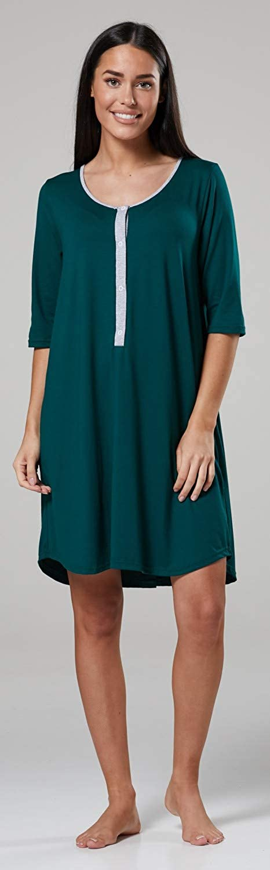 HAPPY MAMA Damen Damen Damen Geburtskleid Krankenhaus Umstands Nachthemd Stillfunktion. 539p B07NPMN4WX Nachthemden Stabile Qualität e581d4