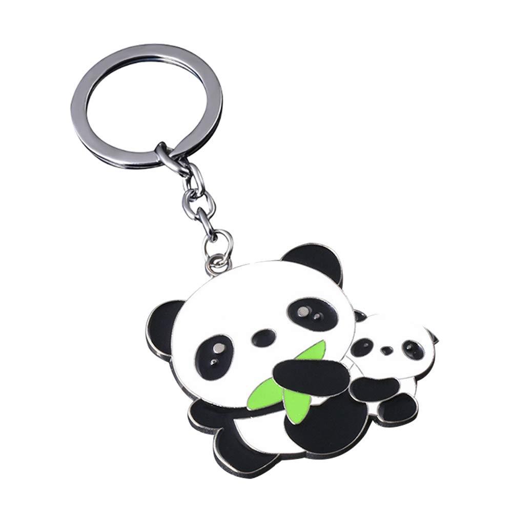 Amazon.com : Kanggest Panda Enamel Keychain Pendant for ...