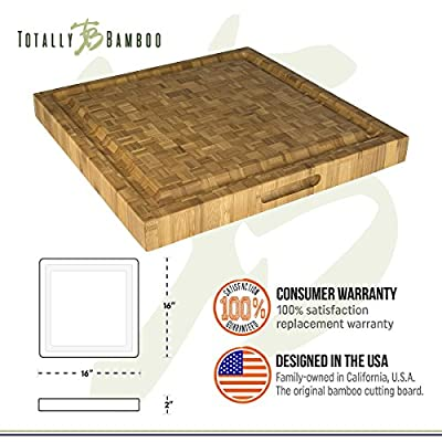 Totally Bamboo Little Kahuna Cutting Board