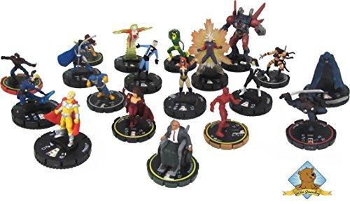 Heroclix Miniature - Bag of Superheroes! 100 Superhero Miniature Figures! by Golden Groundhog!