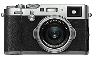 Fujifilm X100F 24.3 MP APS-C Digital Camera - Silver (X100F - Silver)