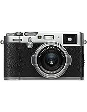 Fujifilm X100F Mirrorless APS-C Digital Camera, Silver (74211)