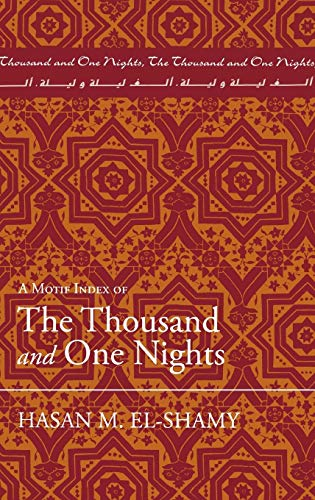 A Motif Index of The Thousand and One Nights (Motif Index)