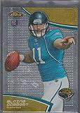 2011 Topps Finest Blaine Gabbert Jaguars Rookie Football Card #100