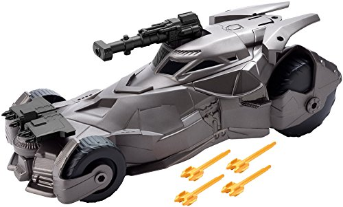 DC Justice League Mega Cannon Batmobile Vehicle, 6