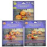 Pumpkin Decorating Kits - Decorates 12 Pumpkins with Cute & Funny Faces
