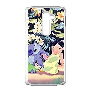 Lilo & Stitch LG G2 Cell Phone Case White gift pp001_6345276