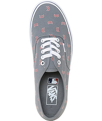 Women's Gray MLB Authentic Sox Boston Vans Red aBfdwRq