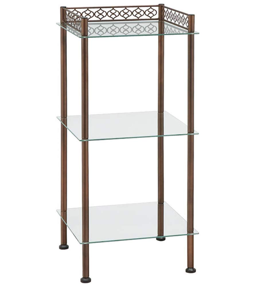 K&A Company Morocco 3 Tier Tower by Neu Home, 30'' x 13.75'' x 10 lbs