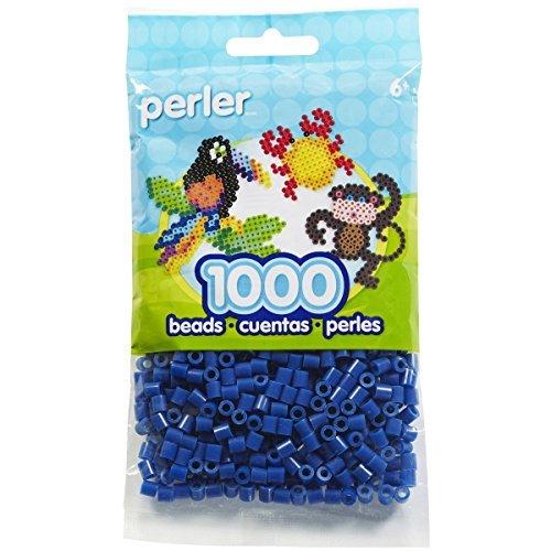 (Perler Beads White/Red/Dark Blue. (AMERICAN FLAG))