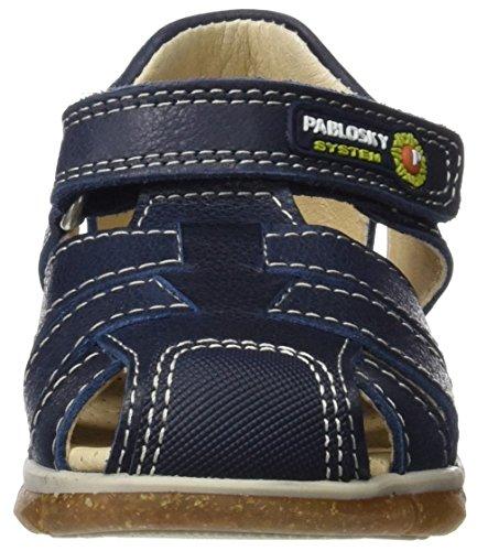 Pablosky Bleu Azul 1 Bout Marine Fermé Garçon 577926 Sandales Bleu F6XqwFr