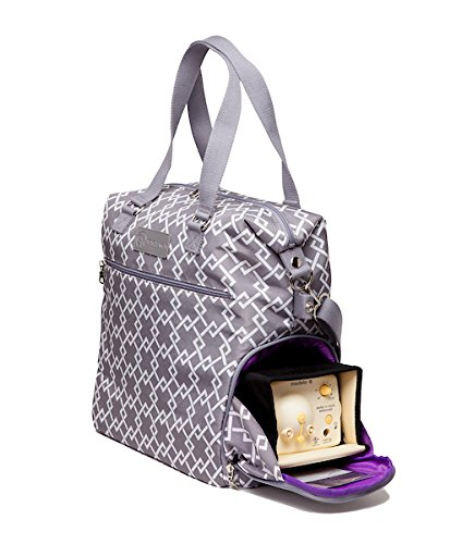 Sarah Wells Lizzy Breast Pump Bag (Gray) by Sarah Wells (Image #2)
