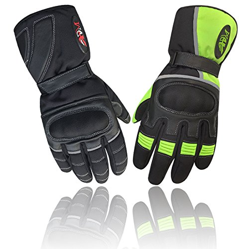 Prime Top Quality Motorbike motorcycle racing gloves knuckle protective vented motocross 9009/9010 (9009-Green, M)