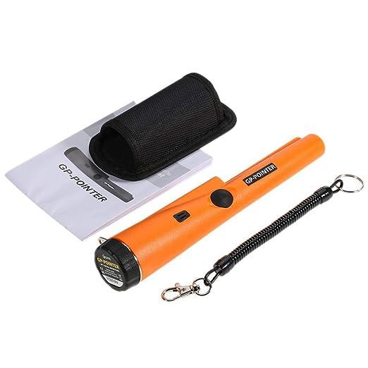 Kimmyer Detector de Metales GP Puntero en Mano portátil de Seguridad Herramienta de inspección Profesional de Alta precisión Detector Impermeable único ...