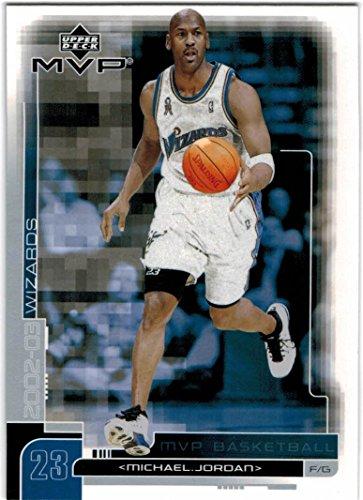2002-03 Upper Deck MVP Washington Wizards Team Set with Michael Jordan & Juan Dixon RC- 10 Cards