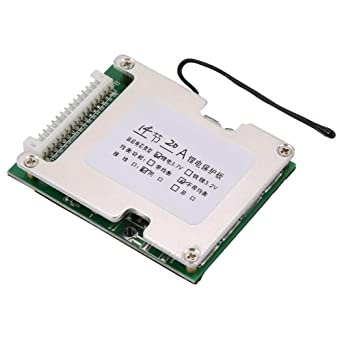 10S 36V 40A W//Balance Li-ion Battery Protection Board BMS PCB for Ternary Cobalt Acid Batteries