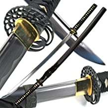 Ace Martial Arts Supply Classic Crane Tsuba Handmade Samurai Katana Sharp Sword-Musha