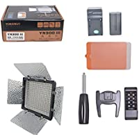 YONGNUO YN300 III on-Camera LED Video Light 2.4G Remote Control Studio Photography Continuous Panel Nature White 5500K for Canon Nikon Pentax Olympas Samsung Vlog Youtube DV Camcorder JVC