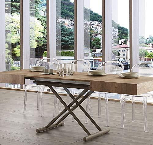 Tavolini Da Salotto Che Si Alzano.Ideapiu Idea Tavolini Tavoli Console Trasformabili Tavolino