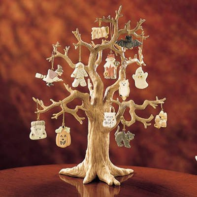 Lenox Set of Ornaments for Ornament Tree (Tree Not Included) (Trick or Treat) (Happy Ornament Halloween)