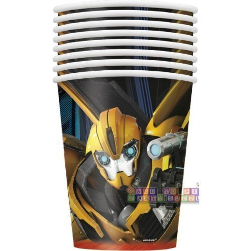 8 Transformers 9oz Cups (Ounce 9 Cups Transformers)