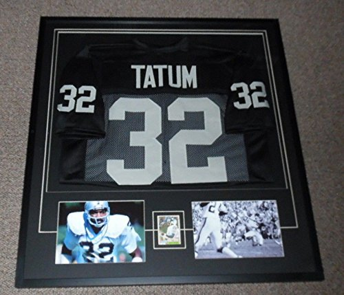 Jack Tatum Signed Framed 33x36 Jersey & Photo Display for sale  Delivered anywhere in USA