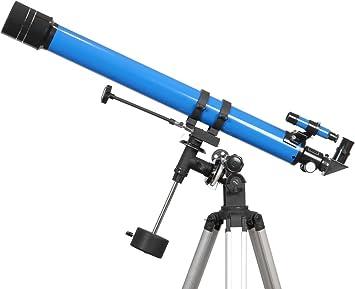 iOptron 6002 900X70 Refractor Telescope (Blue)