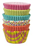 Wilton 415-6079 150-Pack Assorted Spring Theme Baking Cups